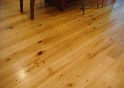 "Cypress flooring.<br/> <span class=""gallery-courtesy"">Courtesy Custom Lumber Manufacturing Company</span>"