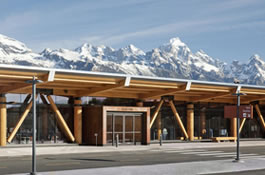 Cypress Endures the Elements at Wyoming's Jackson Hole Airport