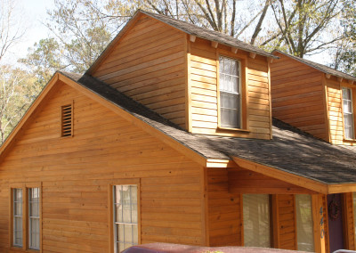 Cypress siding. Courtesy Acadian Cypress and Hardwoods